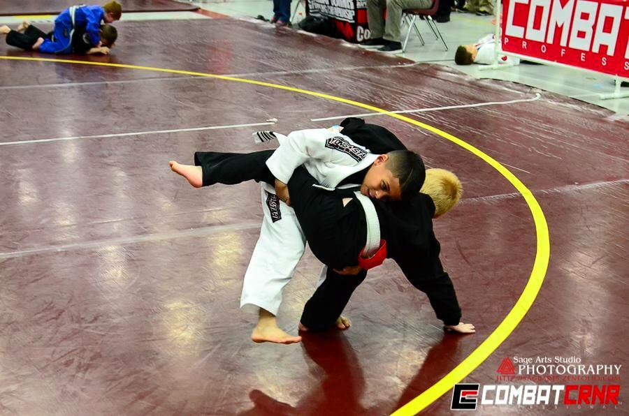 The BJJ scrimmage is a great way to prepare the kids for larger jiu jitsu tournaments.