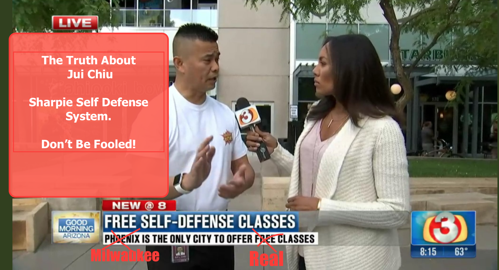 Arizona self defense expert could be providing false security.
