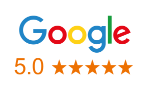 Over 100 5 Star Reviews On Google!