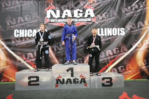 Kids Brazilian Jiu Jitsu Tournament Gold Nova Gym Oak Creek Wisconsin