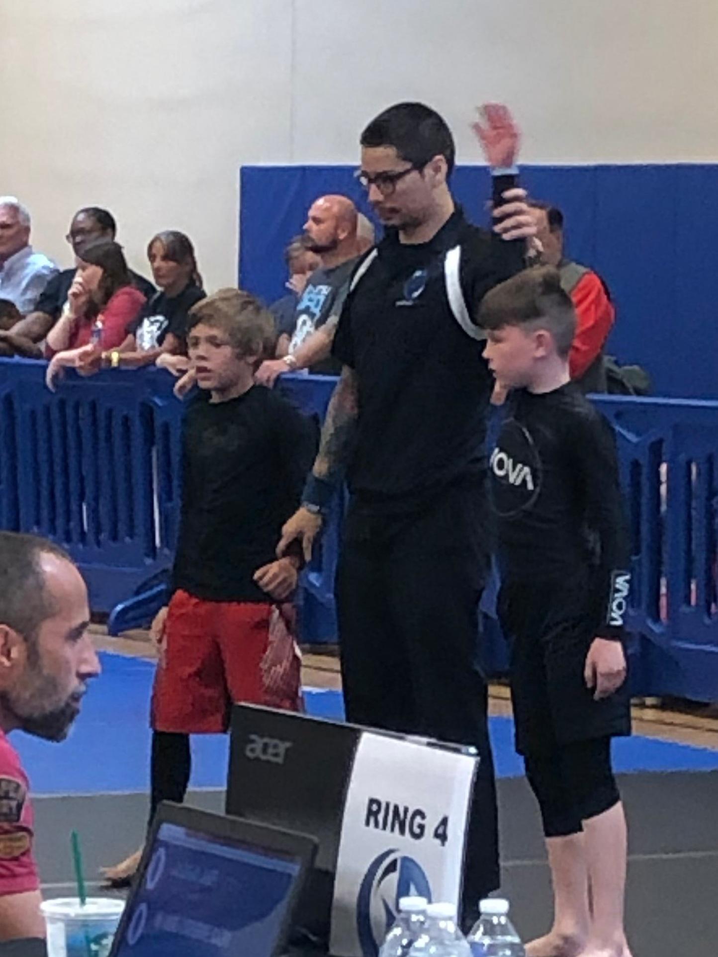 Kids BJJ Brazilian Jiu Jitsu Tournament Nova Gyms Oak Creek Milwaukee Wisconsin