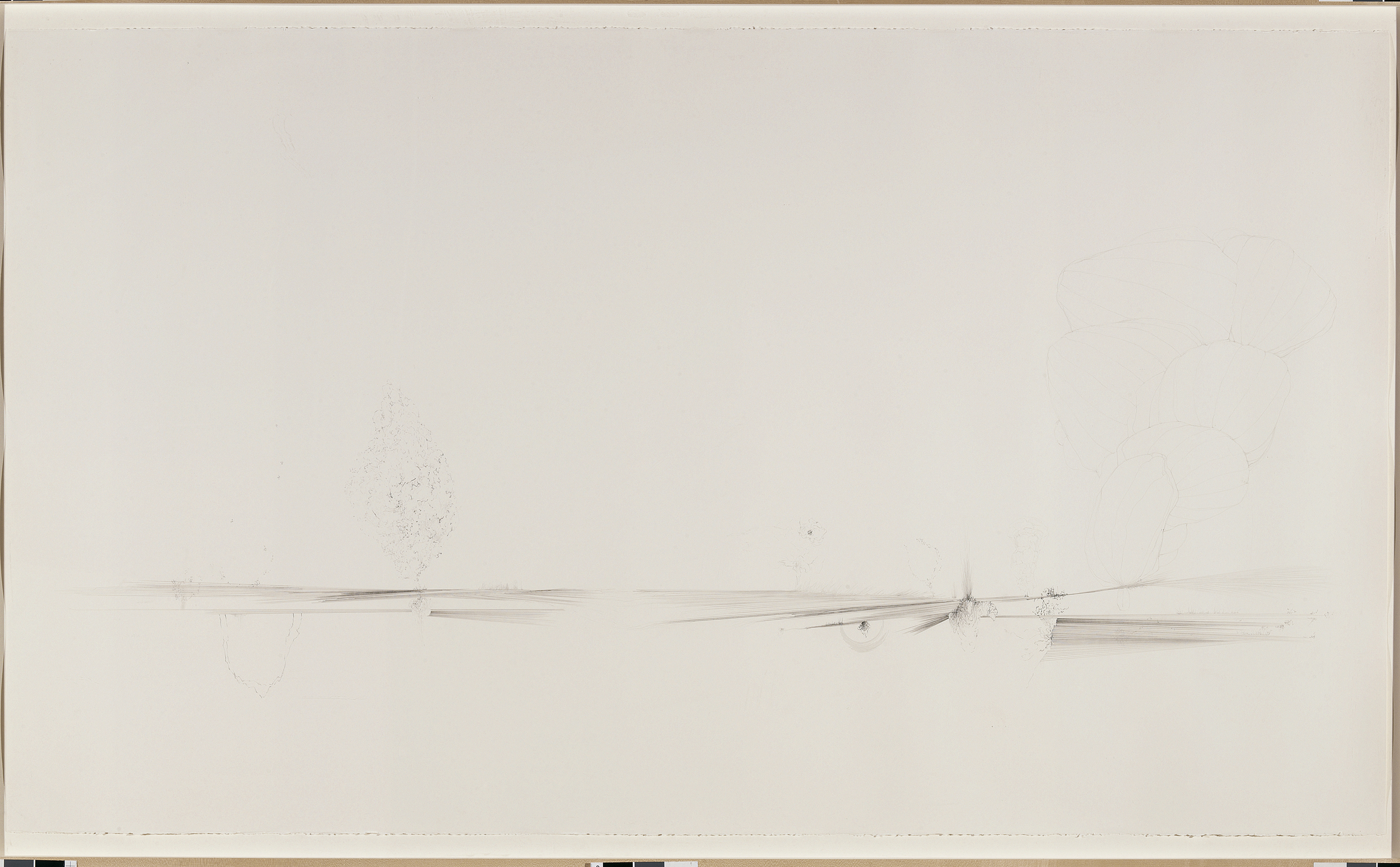 Fissures & Acorns, 2005, 76 in. long