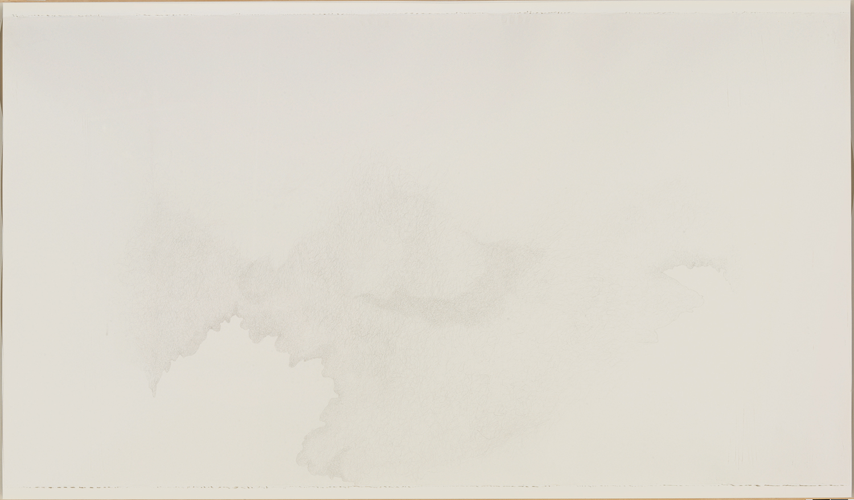 Cloud Cliff Scribble, 2006, 76 in. long