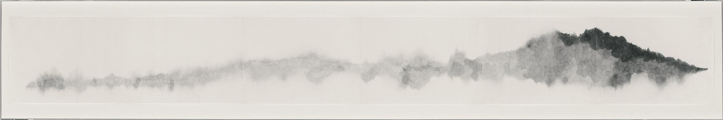 Long Mountain, 2005-06, 8.5 x 86 in.