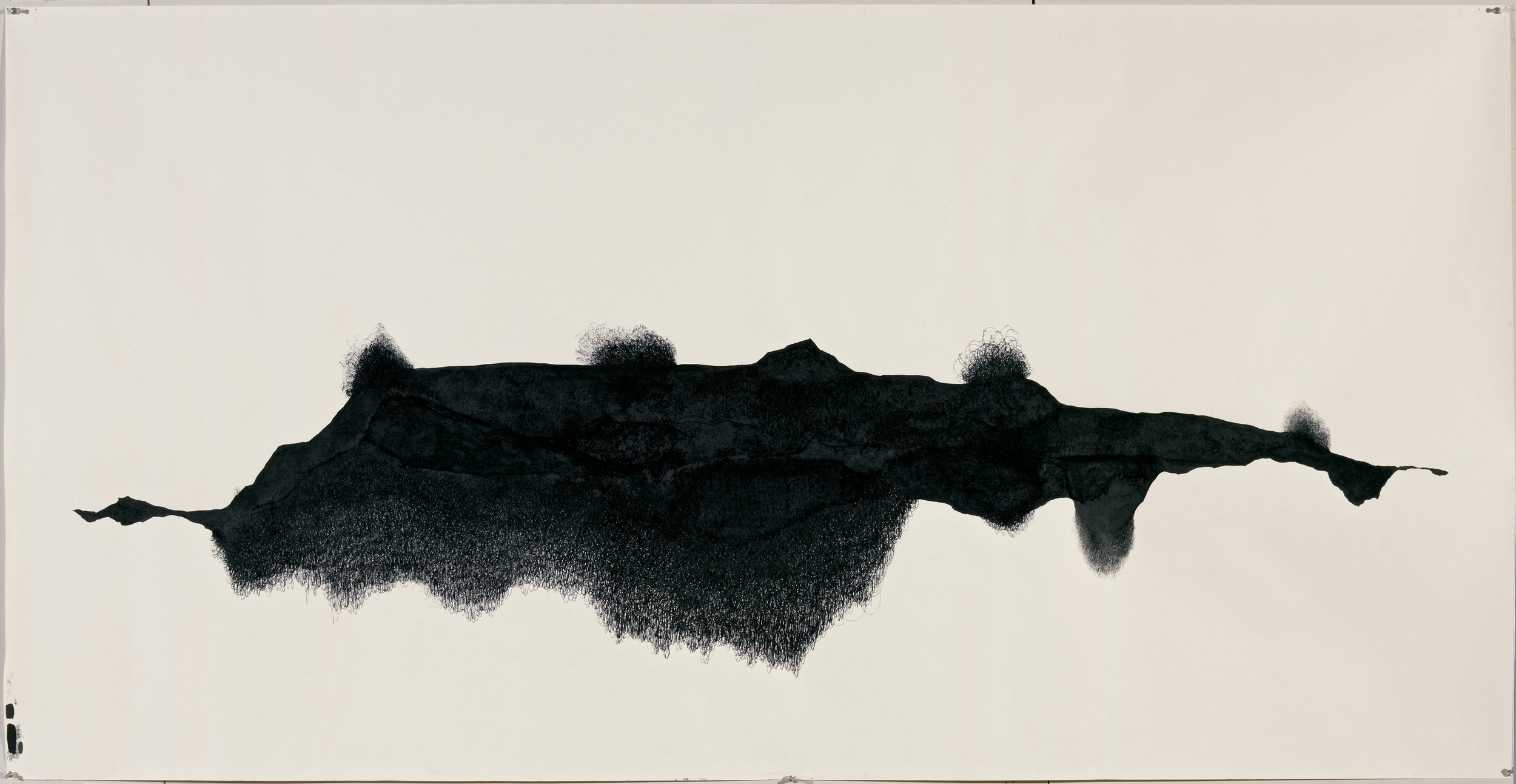 Wedge, 2006-07, 42 x 82 in.