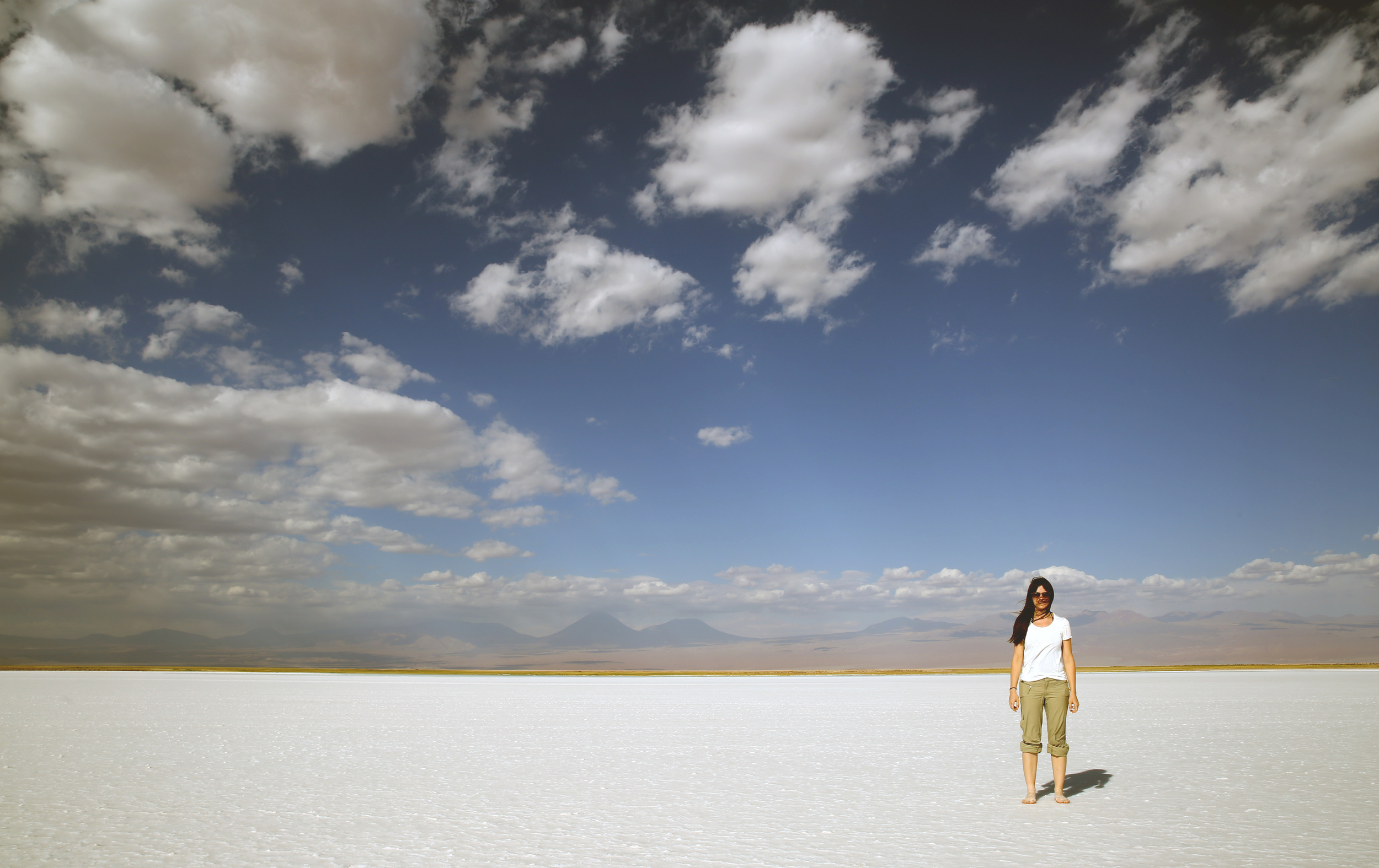 Salt flats in Atacama