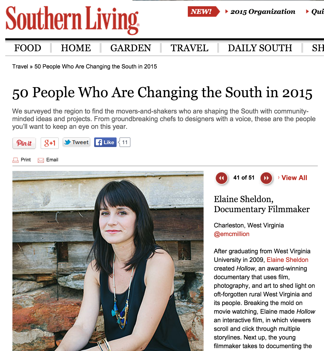 50 People Who Are Changing the South in 2015