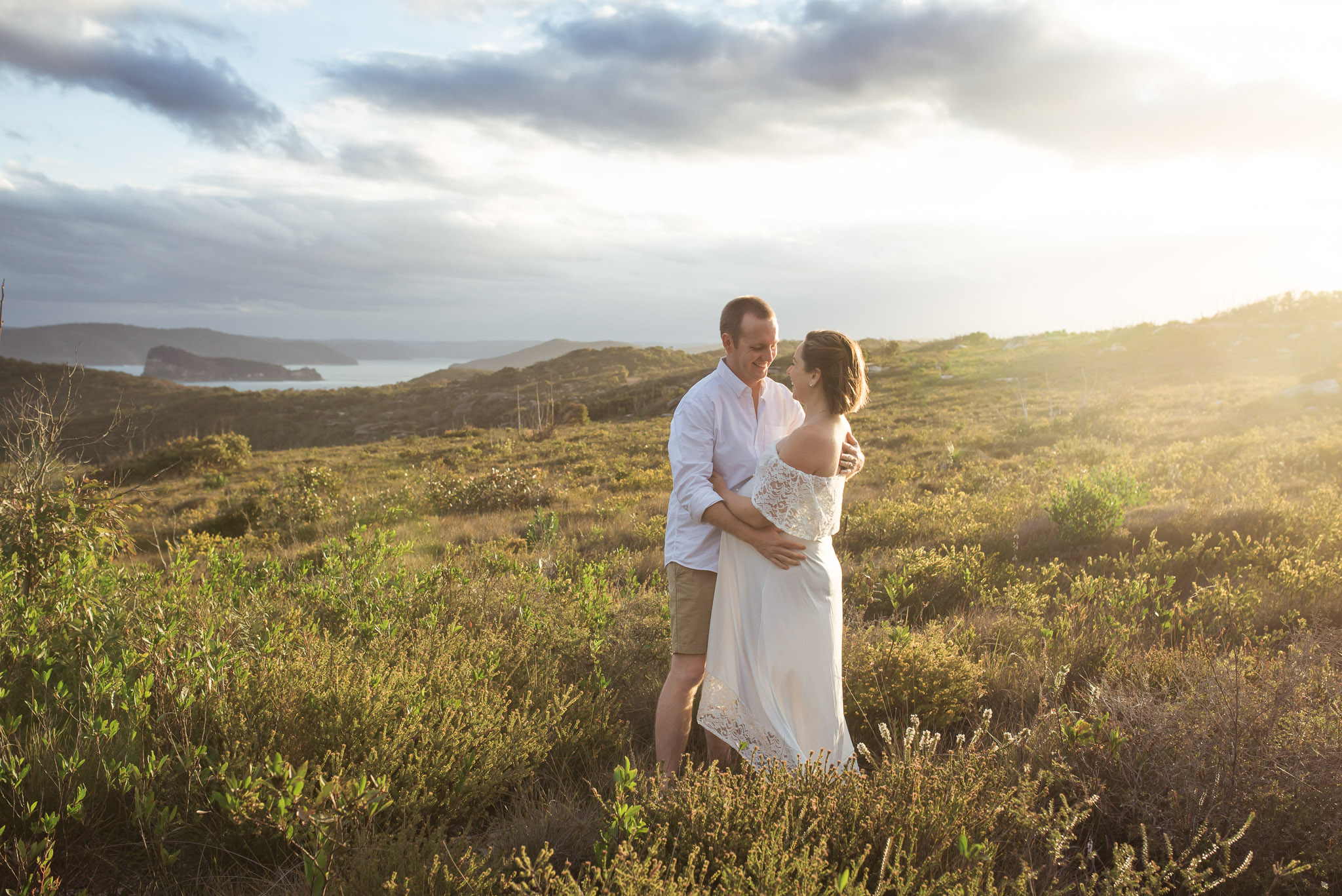 outdoor maternity session central coast