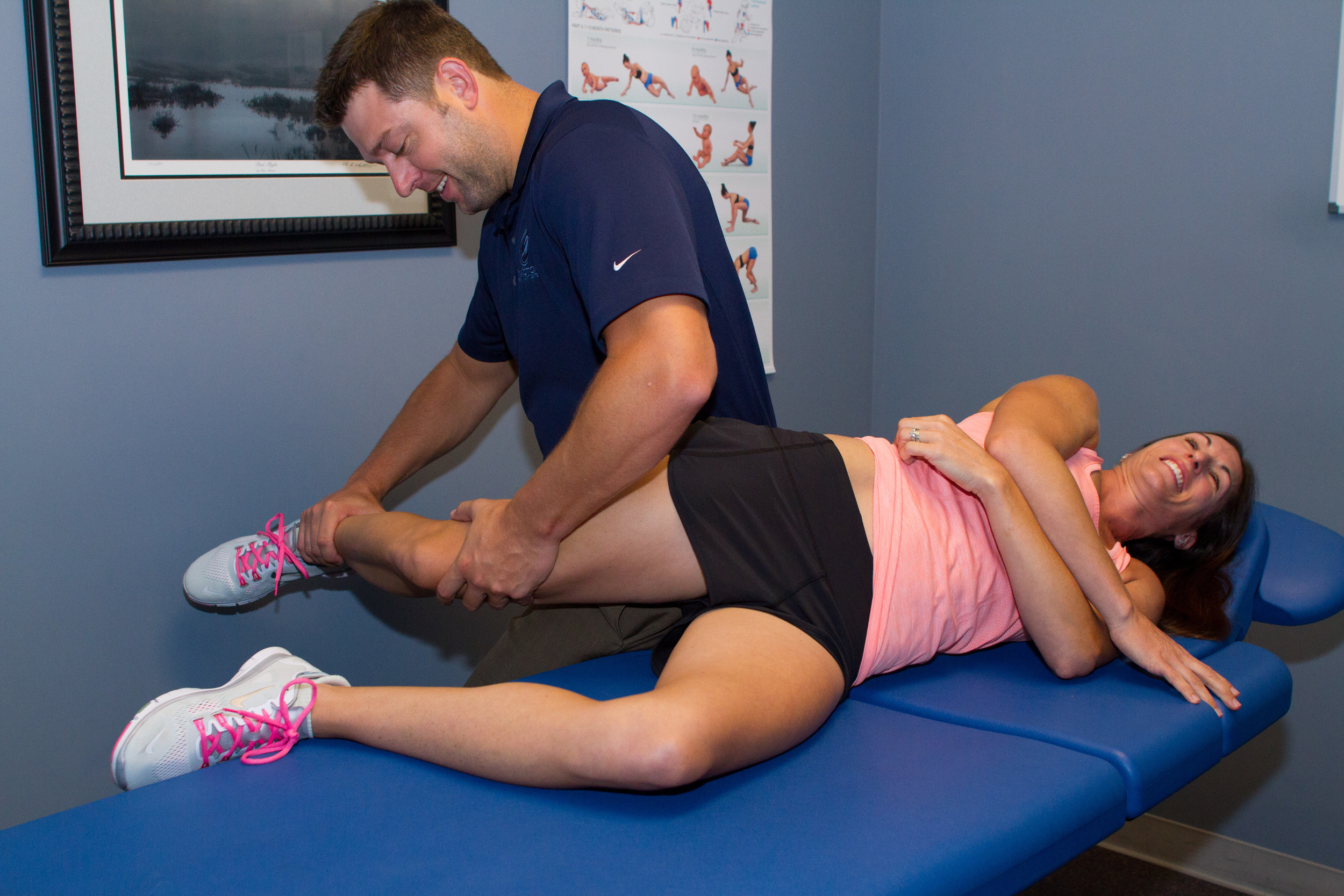 Post-Isometric Relaxation for overactive hip flexors