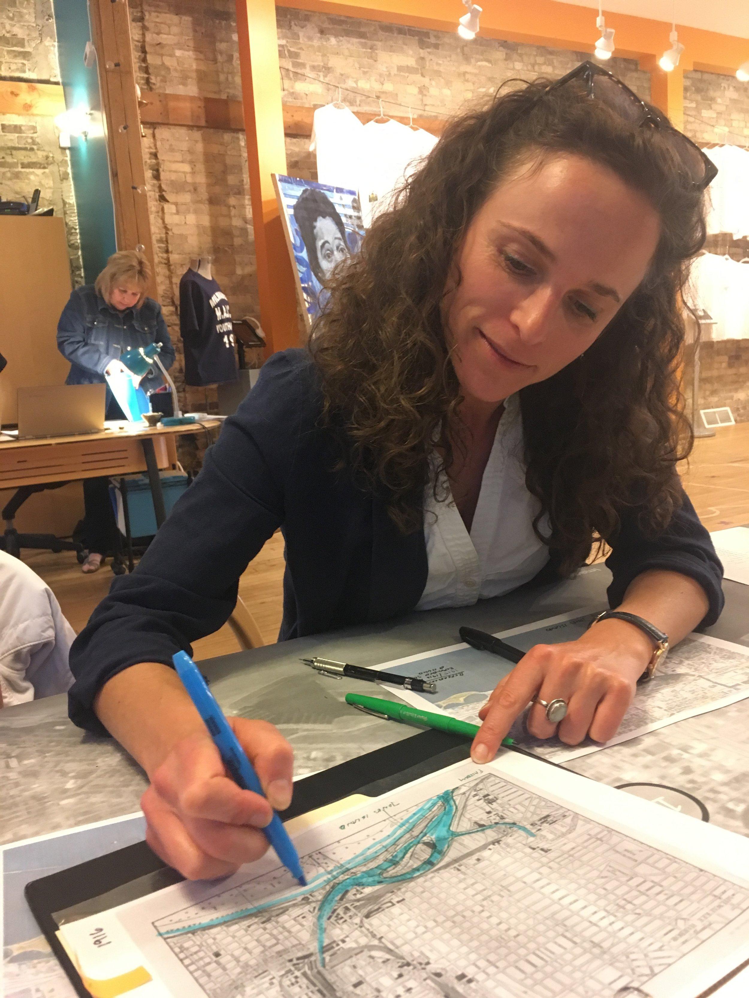Lauren Brown considers the evolution of Jones Island to be represented in one of our scenarios.