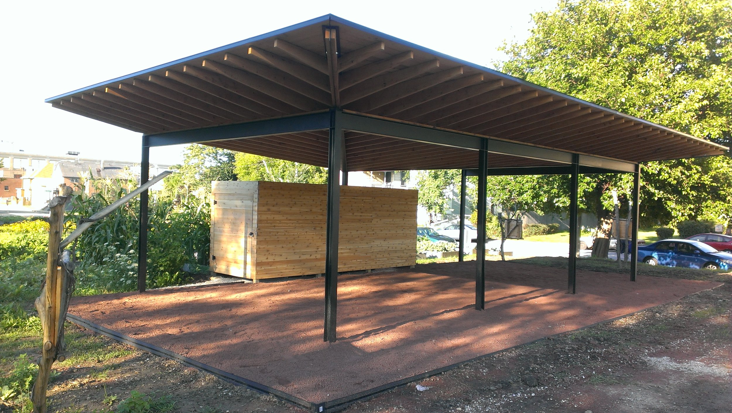 Guest House Finished Rainwater Harvesting Pavillion.jpg