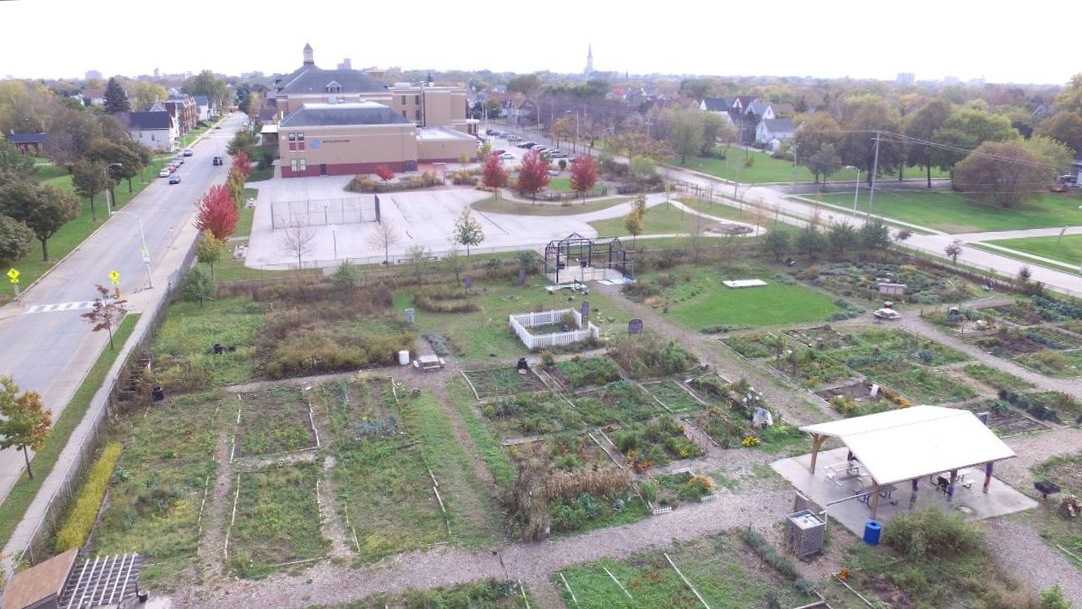 Brown Street Academy, just south of Alice's Garden in Milwaukee's Lindsay Heights neighborhood, is the site for the next Green Schools Conference.