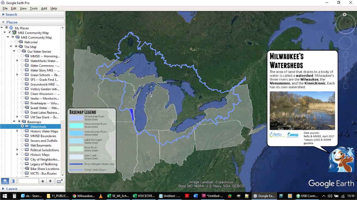 Milwaukee Community Map — Reflo