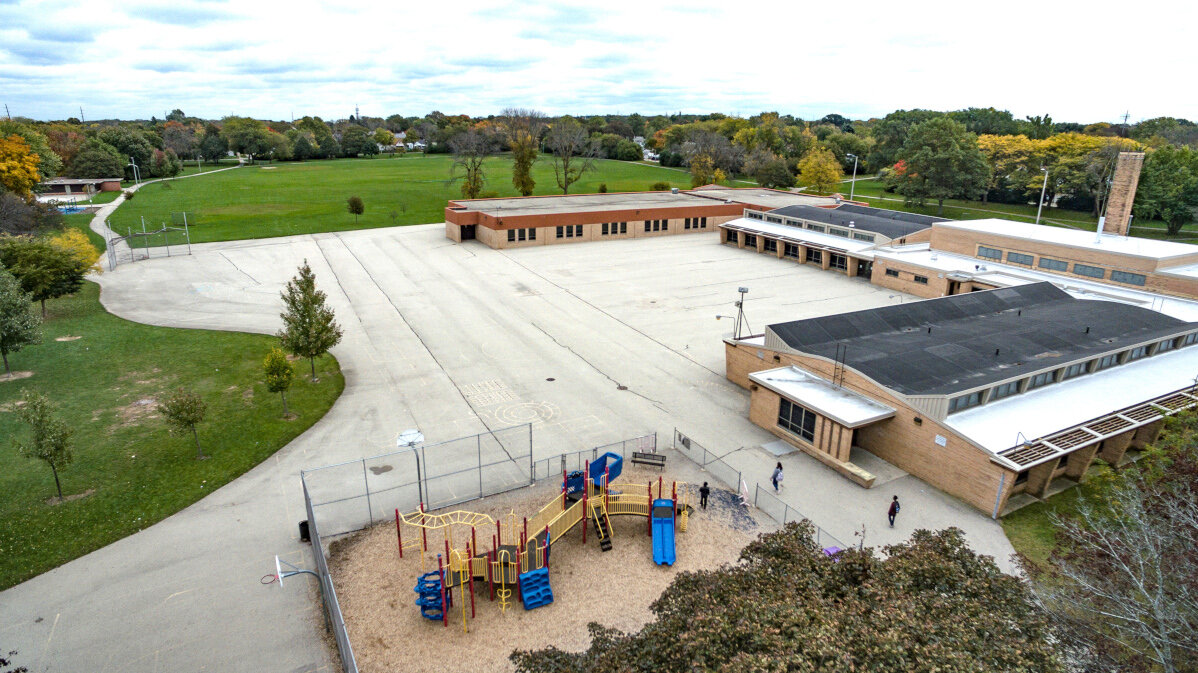 Schoolyard in 2019