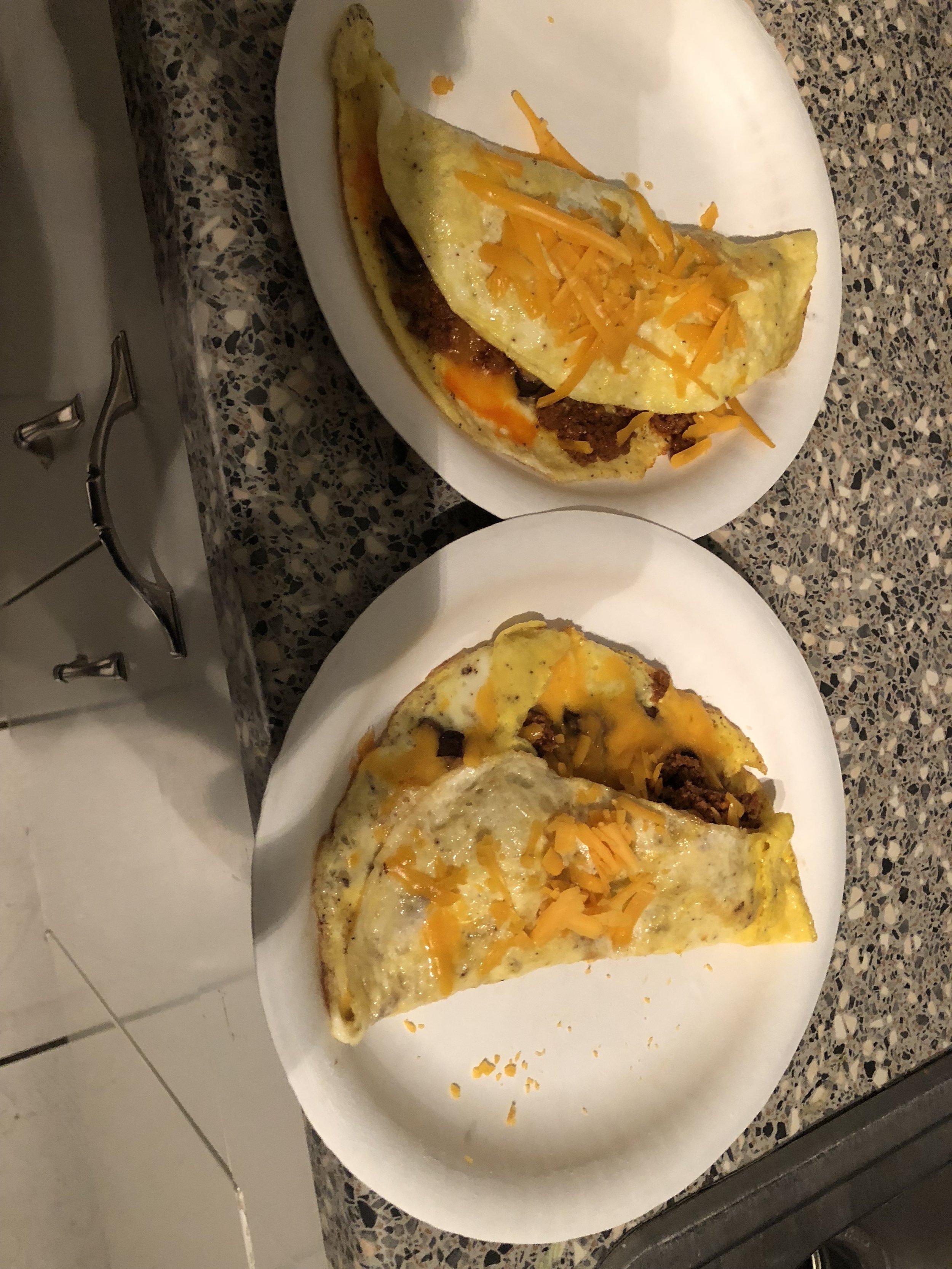 Omelets for Dinner!