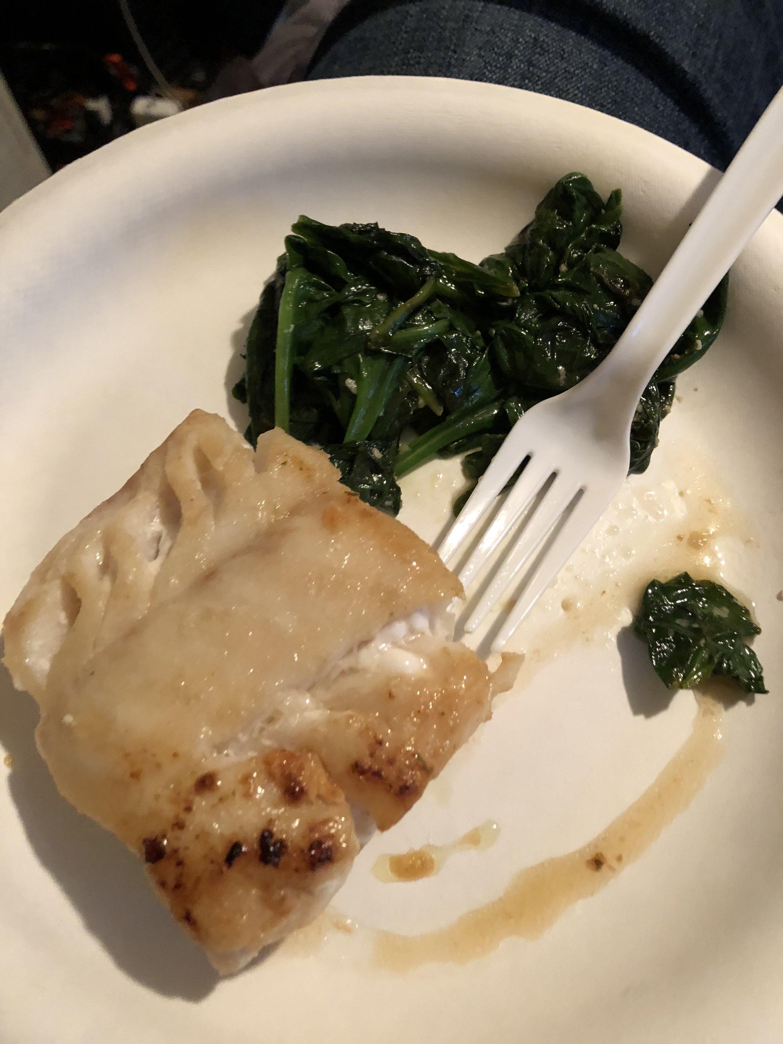 Atlantic Cod & Spinach