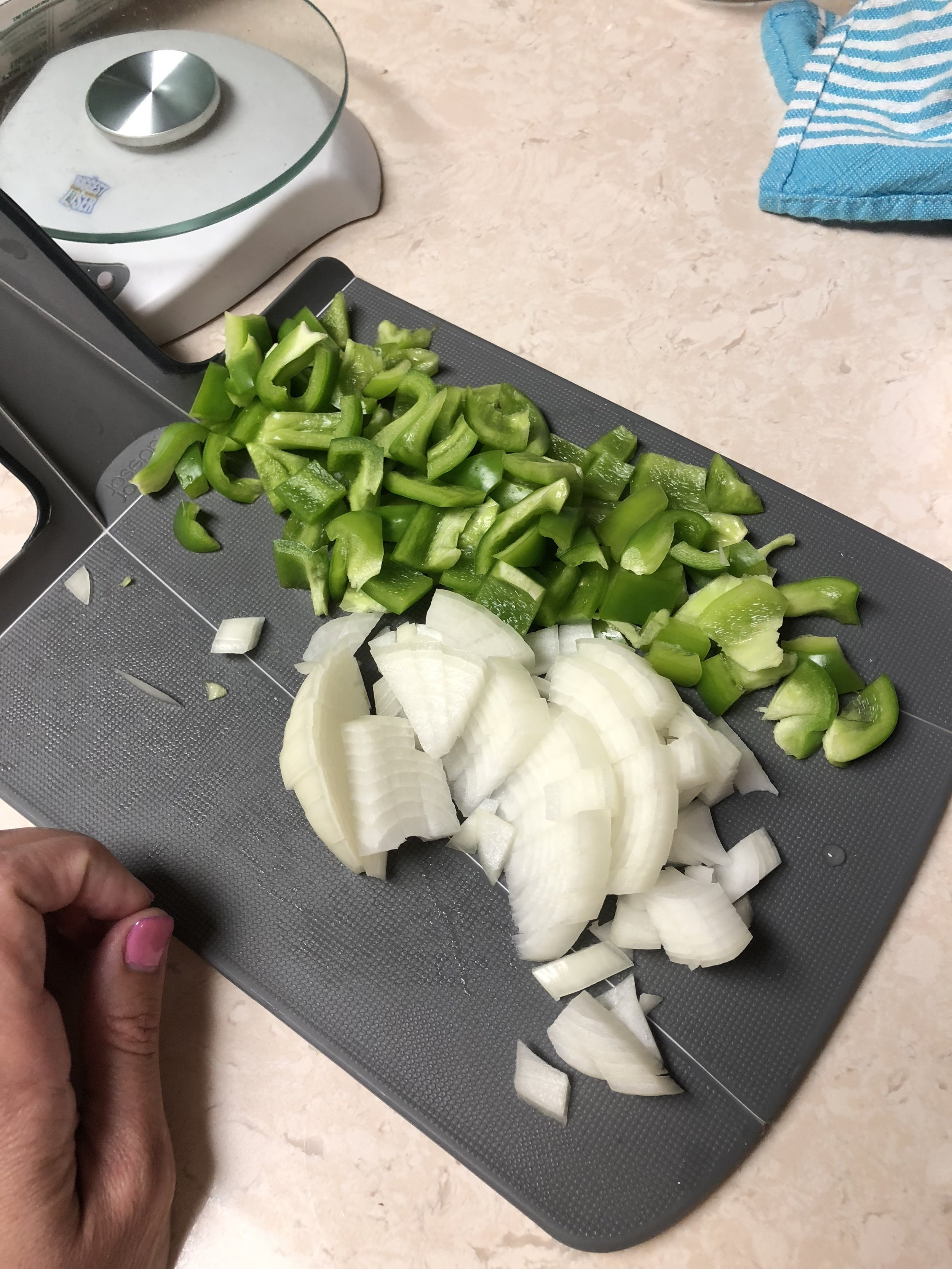 Onions & Bell Pepper