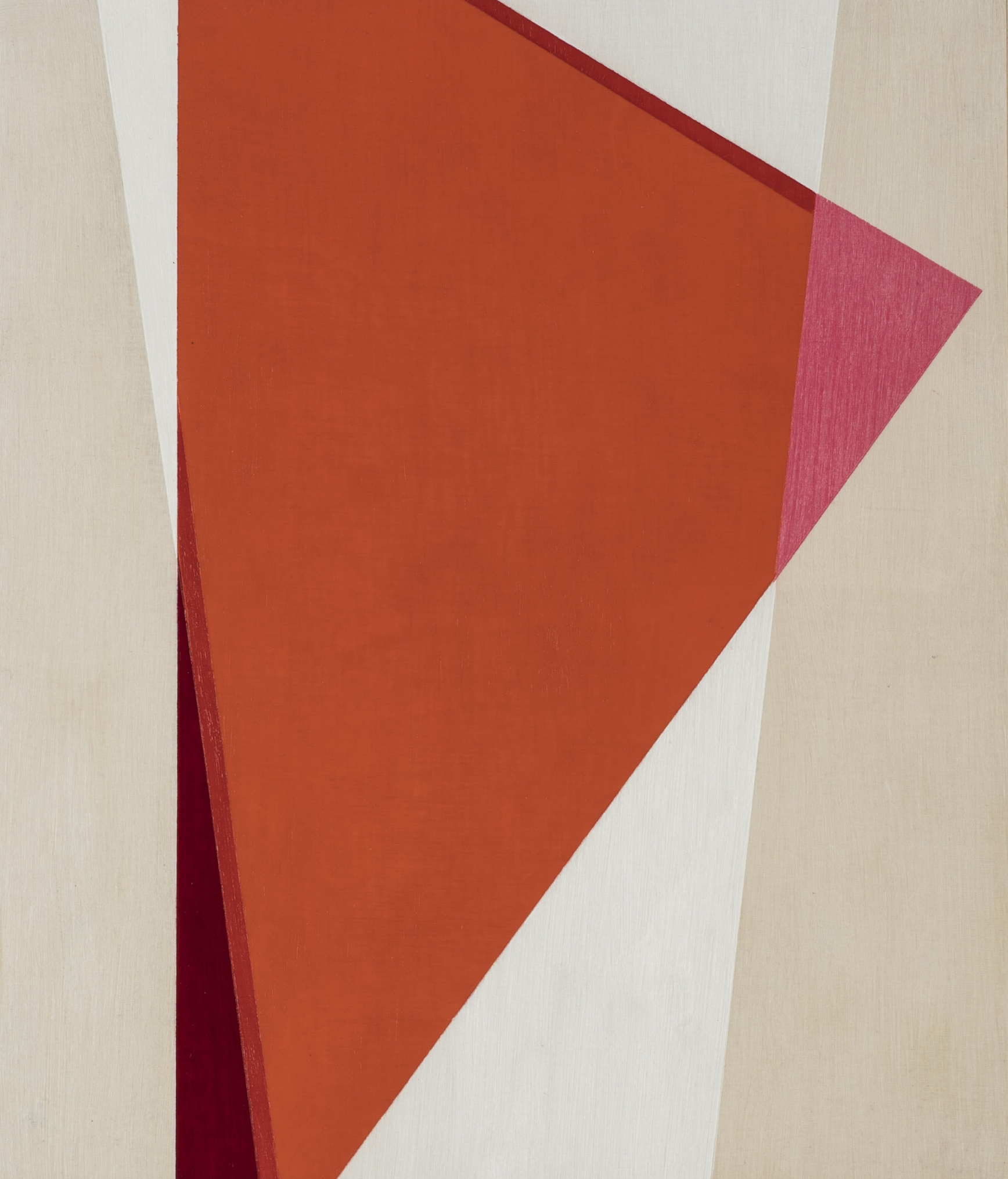 Geometric Abstraction XXX,II oil on panel 25x30 cms 2018