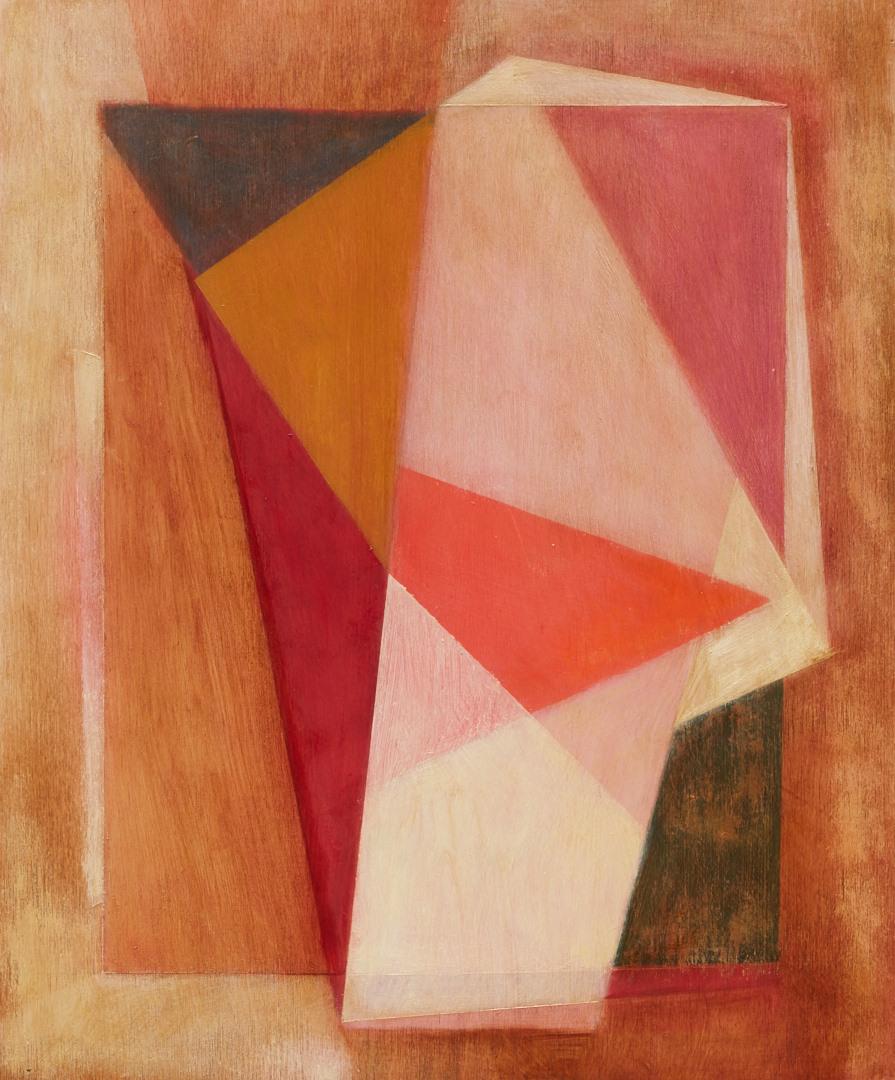 Geometric Abstraction IX 25x30 oil on panel 2016
