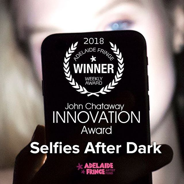 It's the last few days to see a story on @instagram fame at @adlfringe #selfiesafterdark #adlfringe #social #selfie
