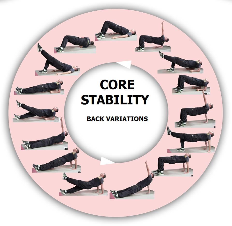 Core exercises back