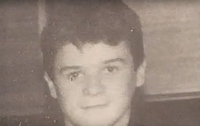 A young ambitious Roy Keane