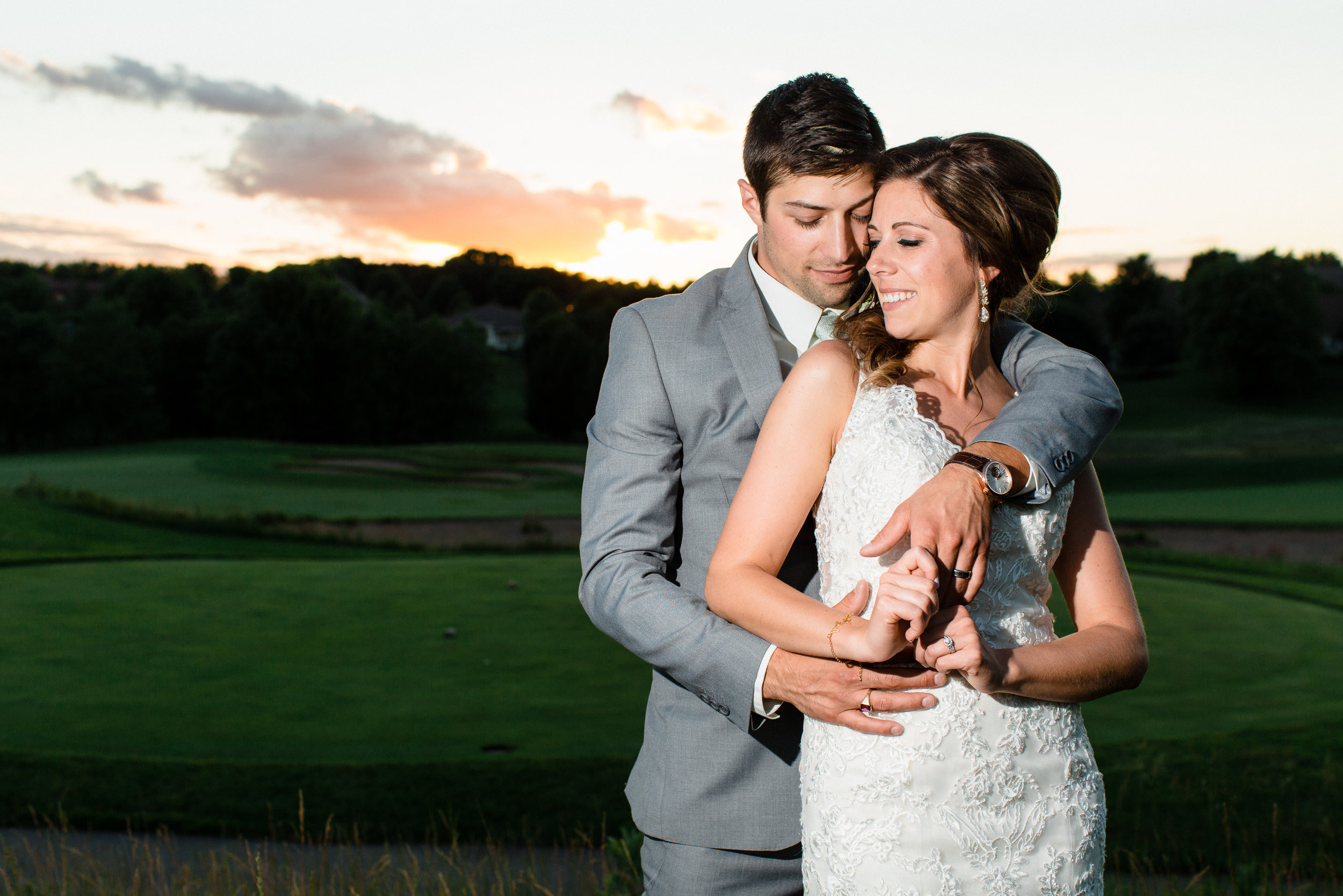 Alli & Brock - Troy Burne Golf course, hudson wi