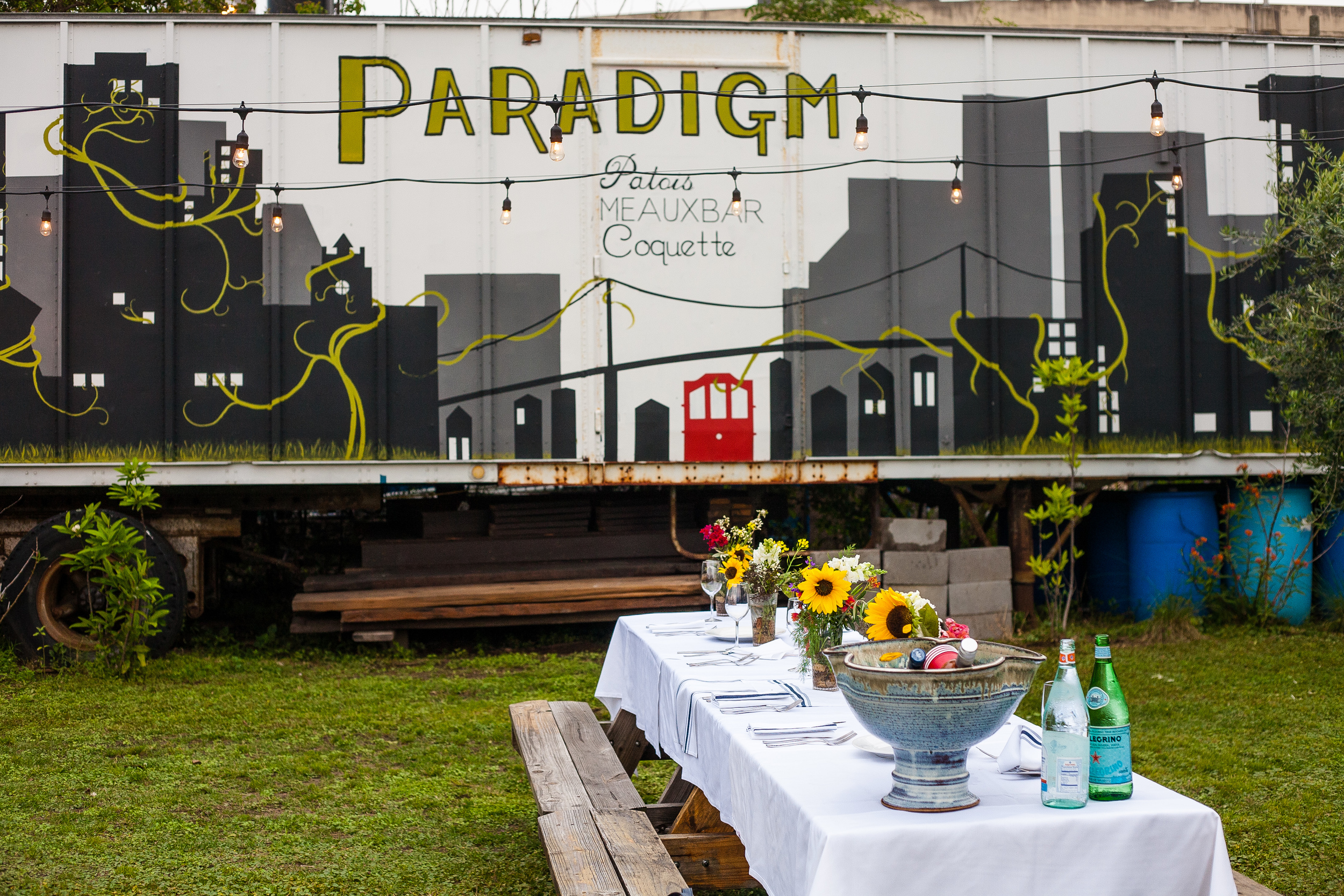 Paradigm Gardens New Orleans outdoor event rental venue space party