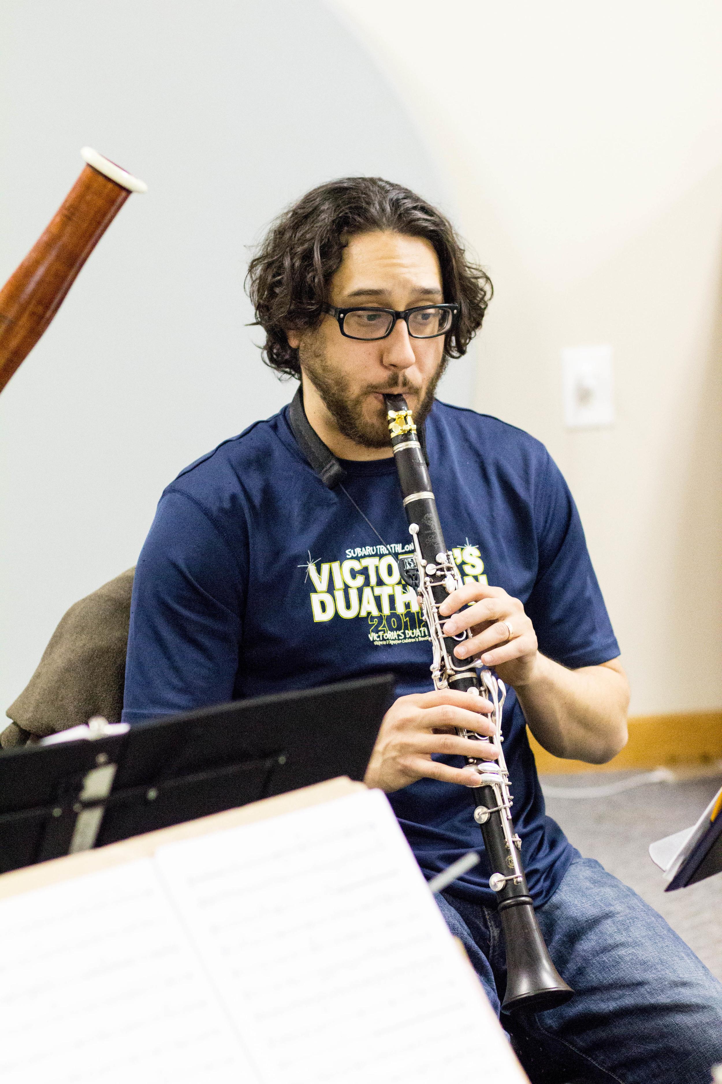 Copy of Anthony Thompson, clarinet