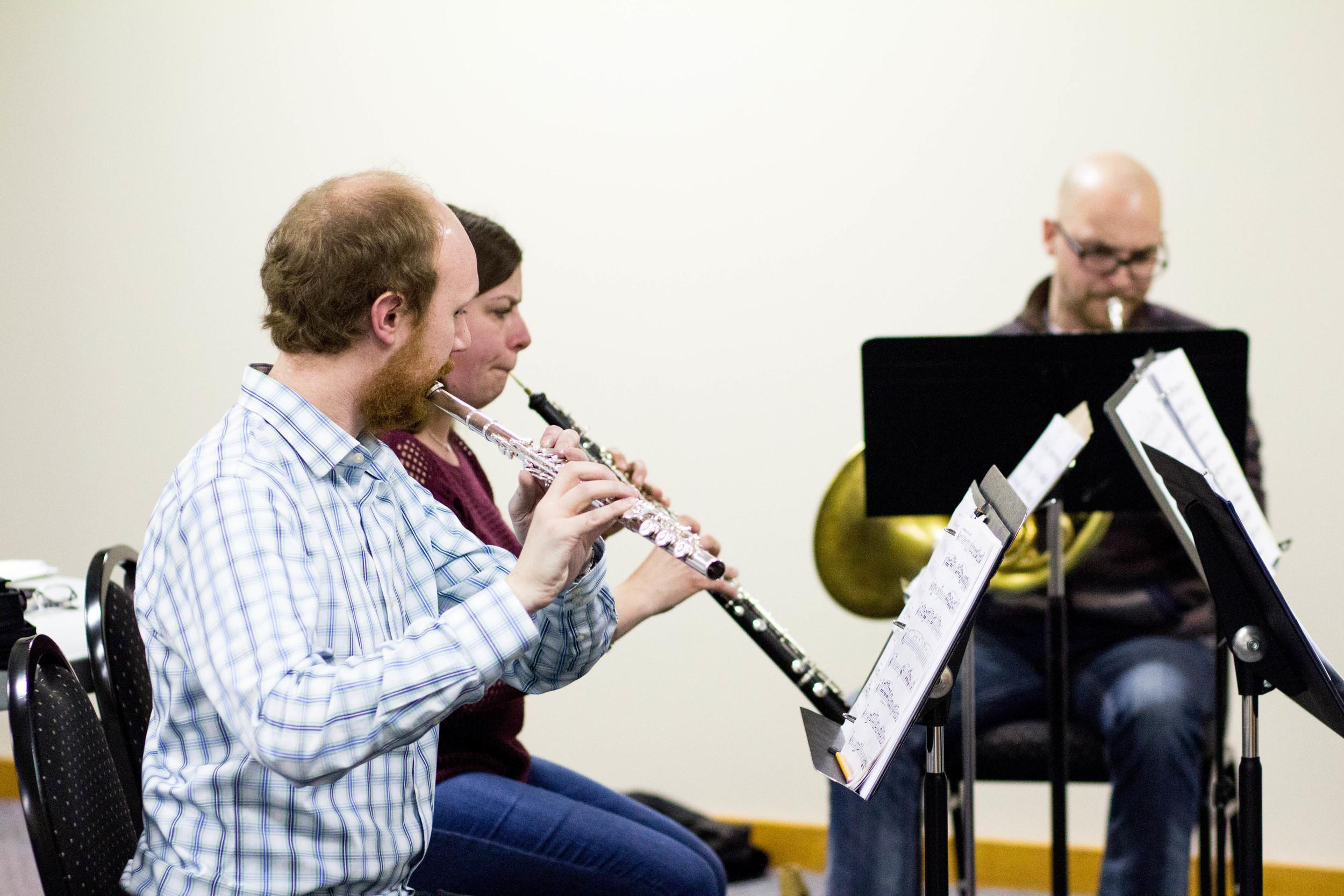 Copy of Tim Crouch (flute), Liz Eccleston (oboe), Curtis Vander Hyden (horn)