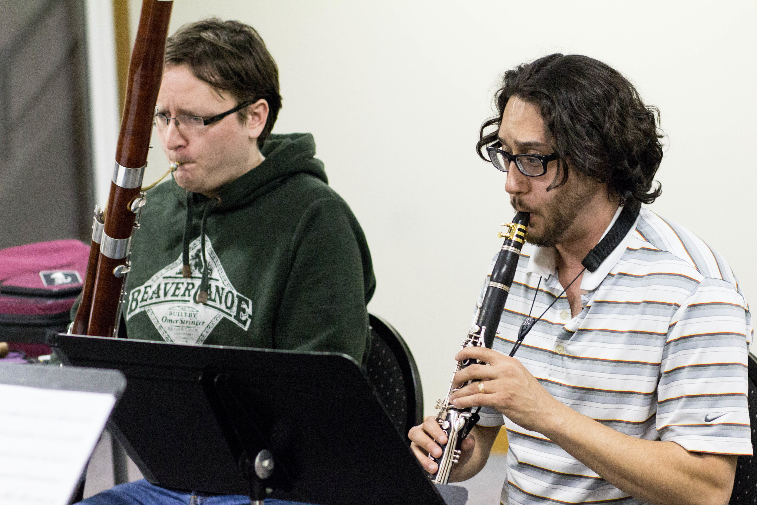 Copy of Anthony Thompson (clarinet) and Mike Macaulay (bassoon)
