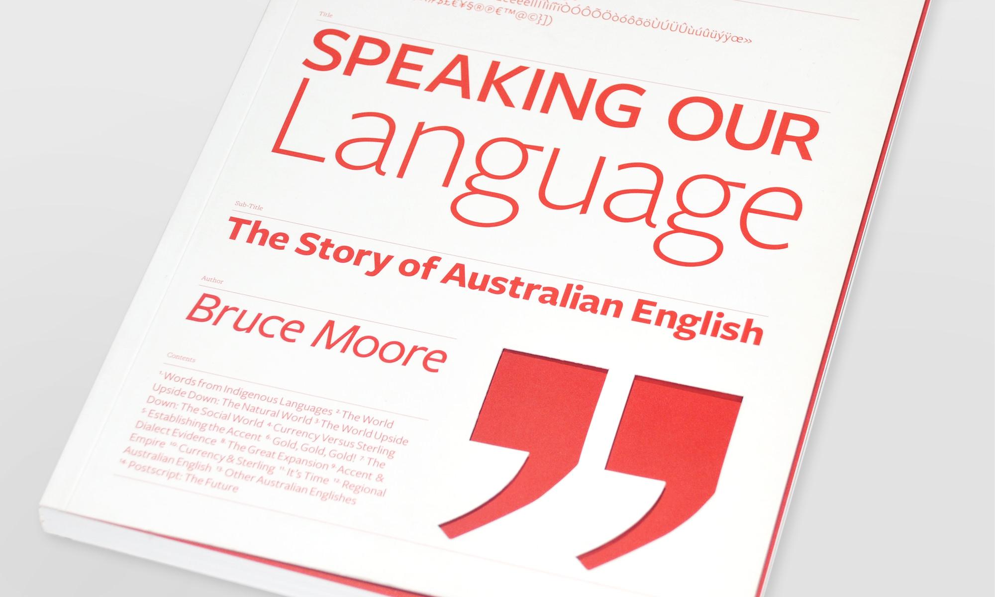Speaking Our Language