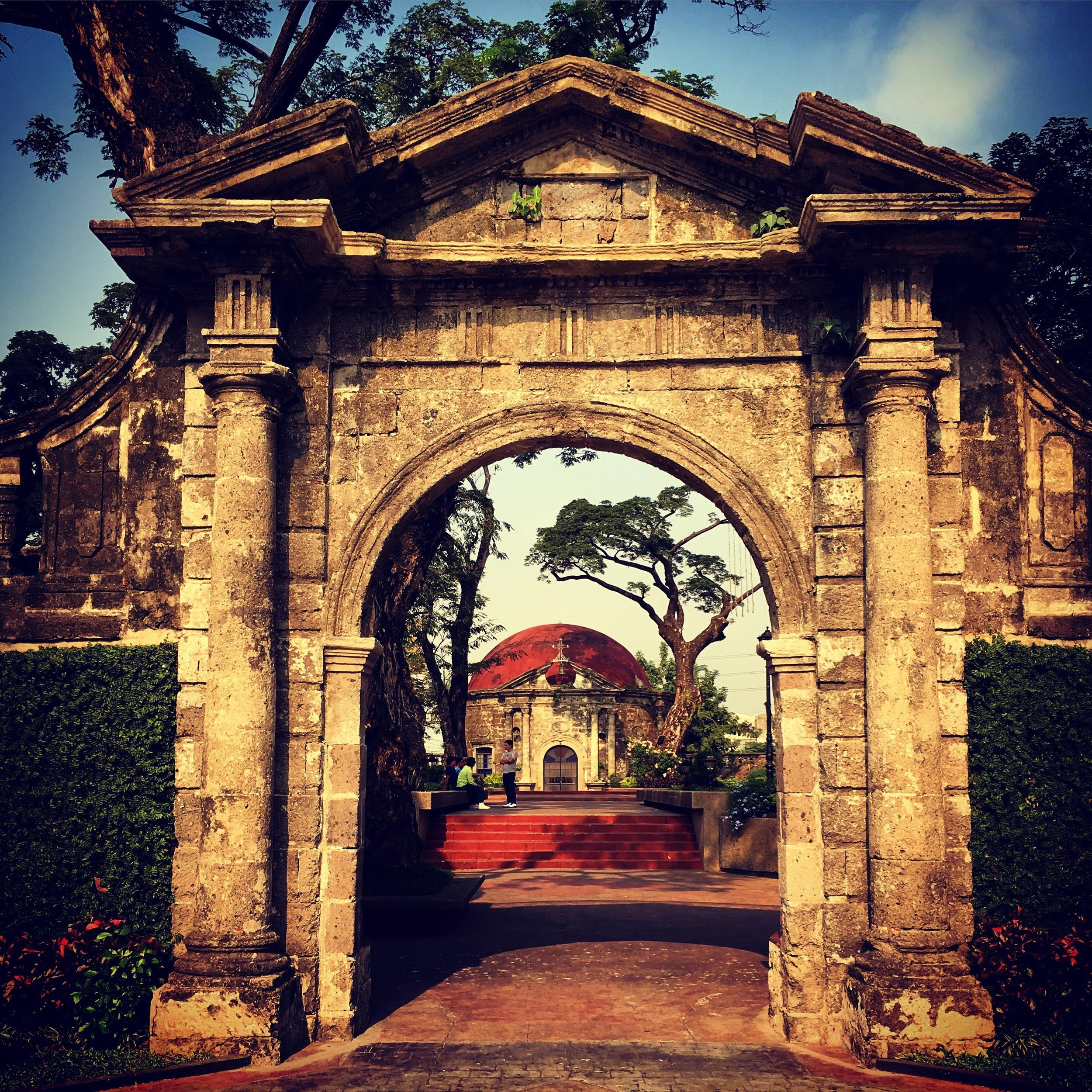 Paco Park entrance