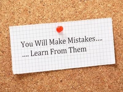 dealing with failure and mistakes