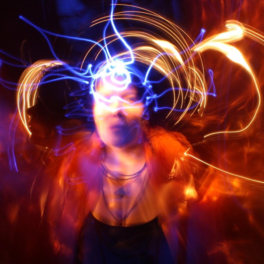 """Cosmic Phoenix (Self Portrait)"""