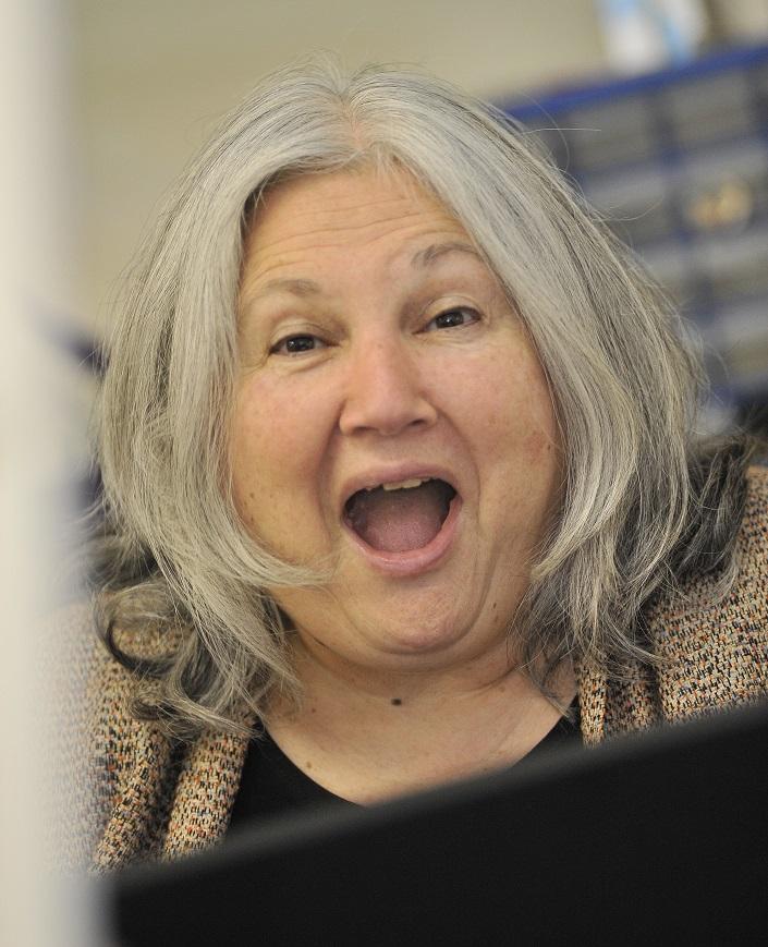 Edith Having Fun!