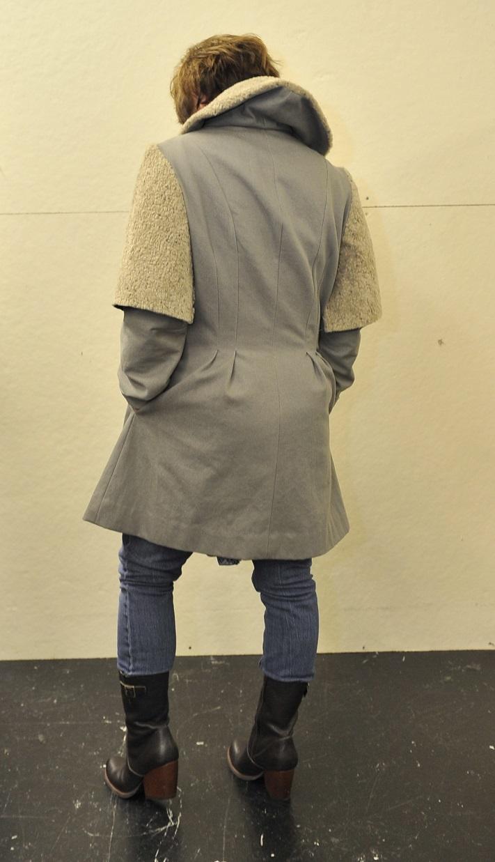 Green Denim Armour Coat