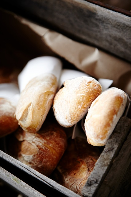 Freshly baked bread available in The Store at The Epicurean Red Hill