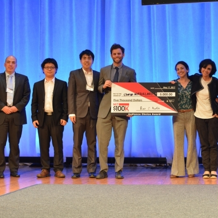 MIT News MAY 2017   change:WATER wins one of top prizes at MIT Entrepreneurship Competition   change:WATER Labs took home the Audience Choice Award, one of three prizes at the annual competition in its 28th year.