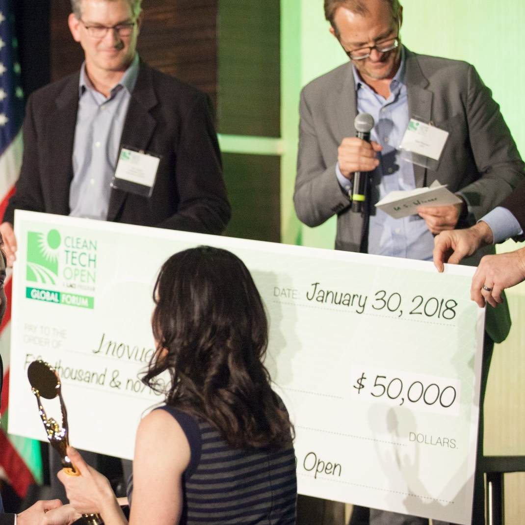 Cleantech Open FEB 2018   change:WATER Labs takes home the national prize for Agriculture, Water and Waste at Cleantech Open's Global Forum   The forum is the world's largest accelerator for early-stage clean-technology startups.