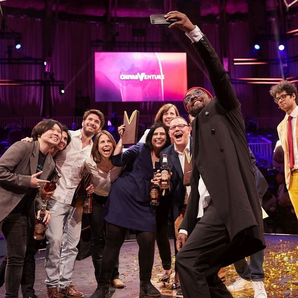 PR Newswire MAY 2018   change:WATER becomes a top 5 finalist at the Chivas Venture 2018   will.i.am was among the judging panel at the Chivas Regal global competition for promising social startups, awarding a total of $1m in funding among the highlighted finalists.