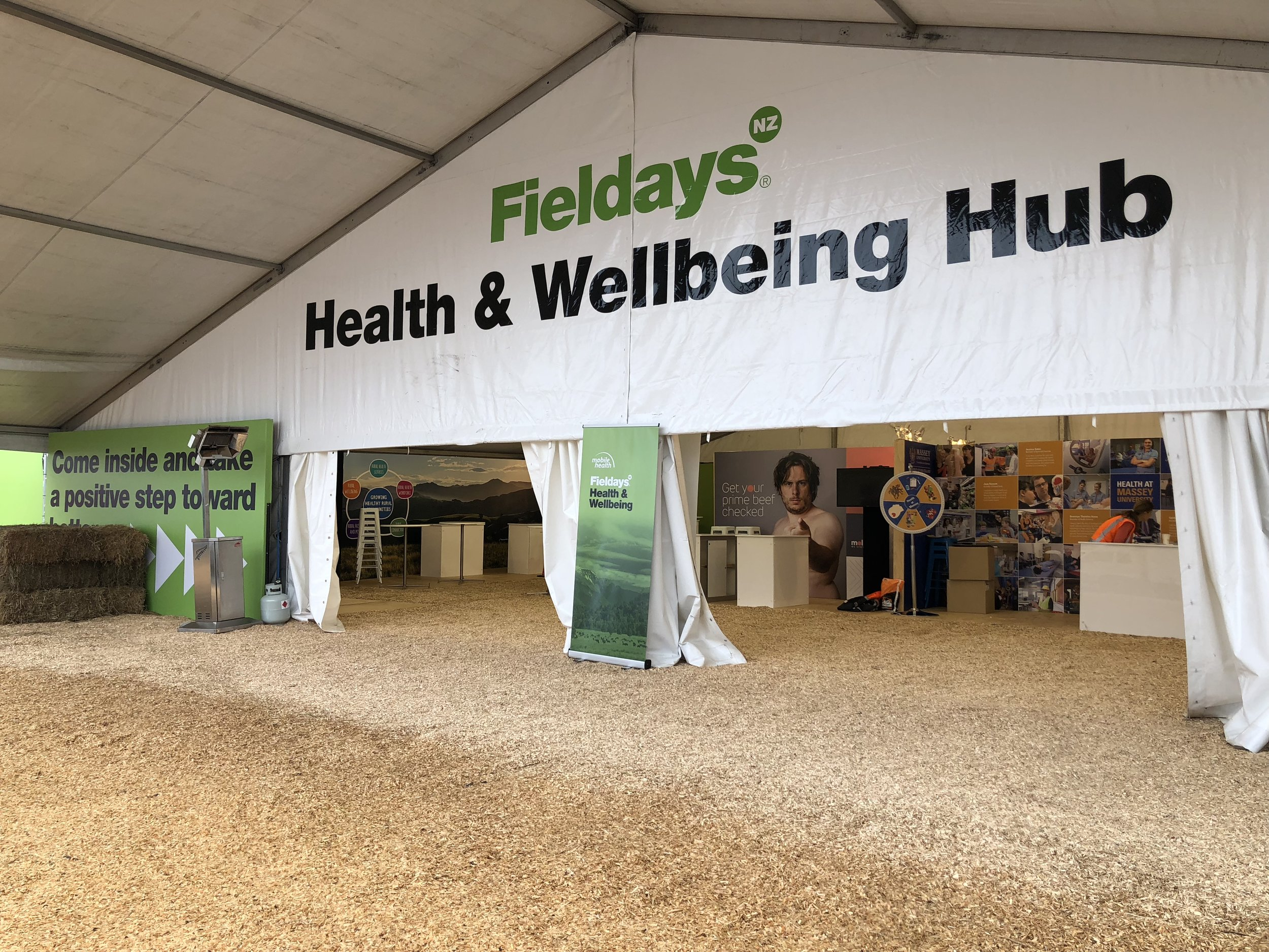 Health and Wellbeing Hub - Fieldays have teamed up with Mobile Health and Massey's College of Health to offer a range of nutrition and showcase innovative and lifesaving services Mobile Health are providing communities.Find them: E Street next to Careers and Education Hub