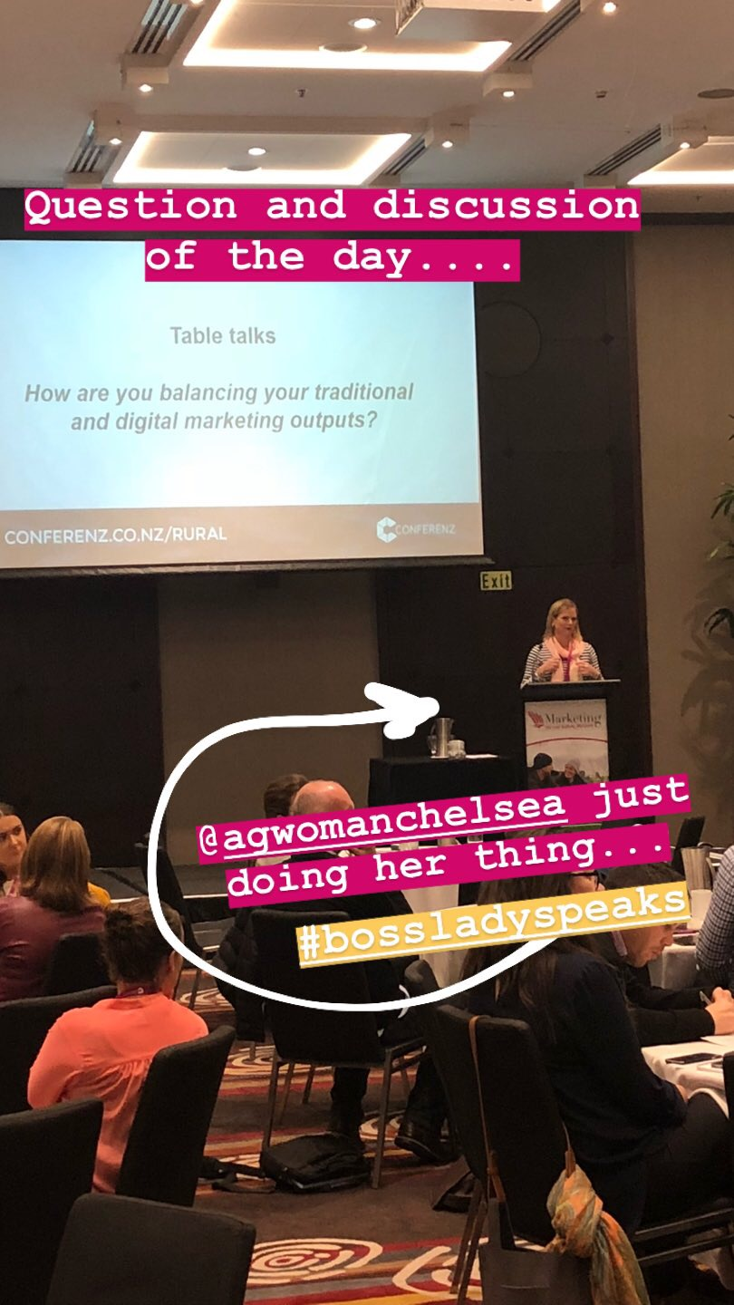 chelsea millar at marketing conference