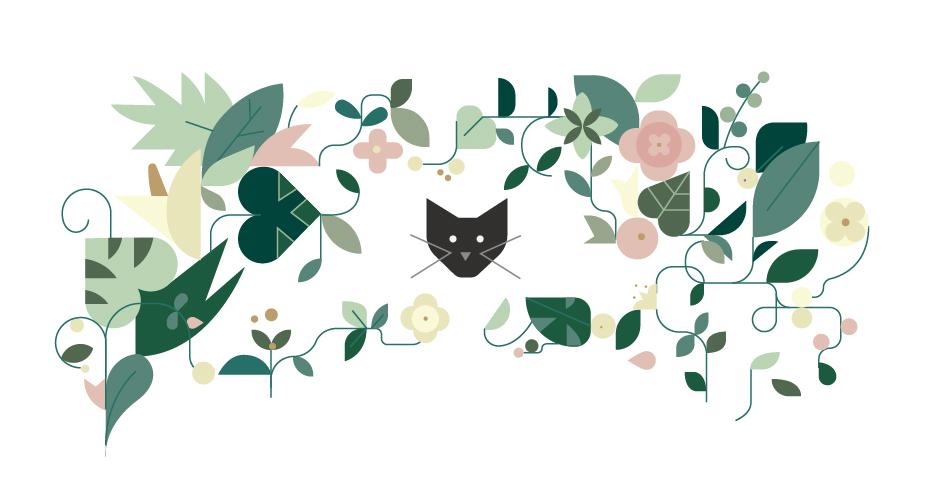 design, color, cat, plants, flowers, wedding, boda, invitacion.jpg