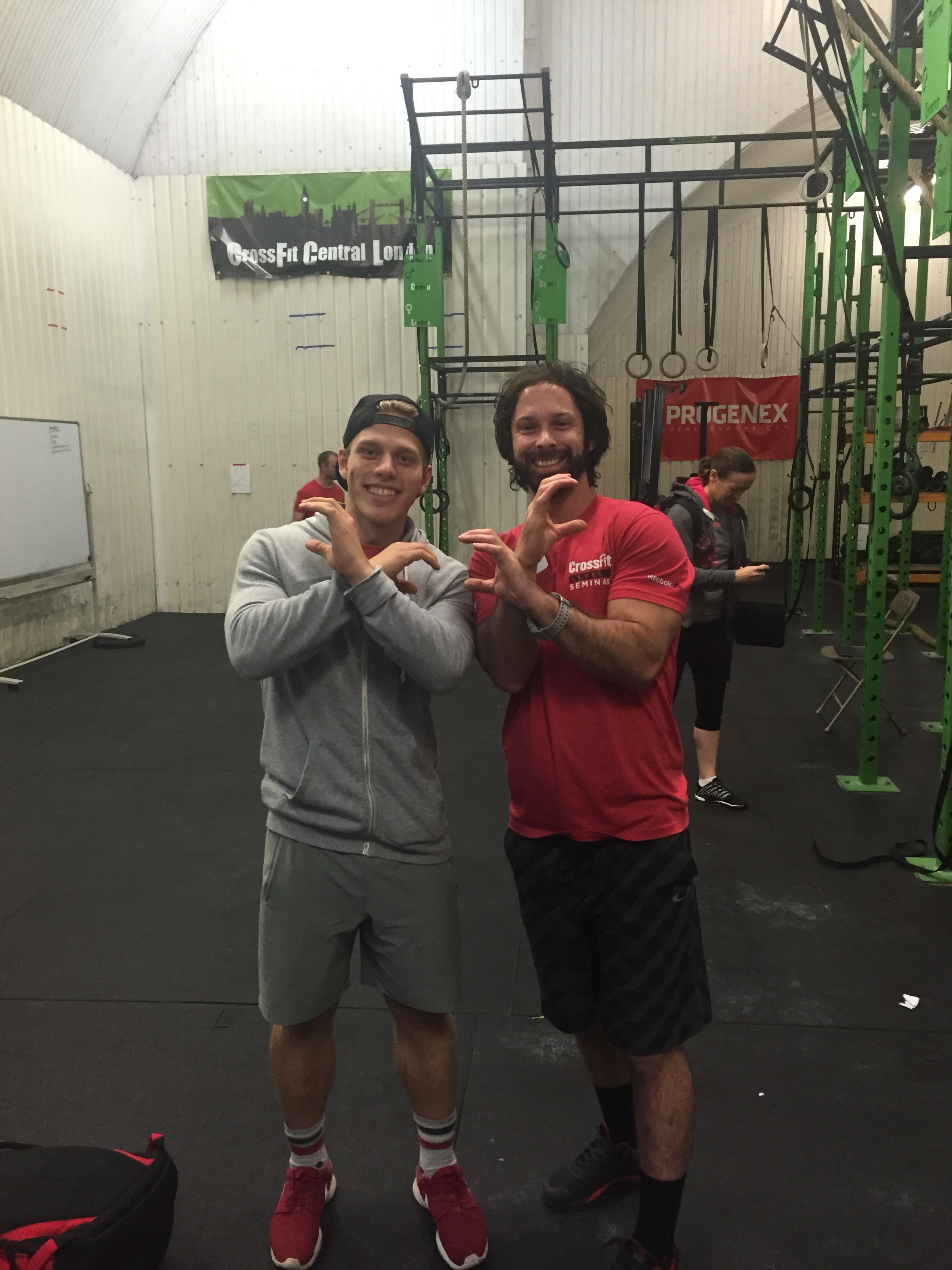 Jonne Koski (9th Fittest Man in the World) wishing he was at Crossfit Cardiff