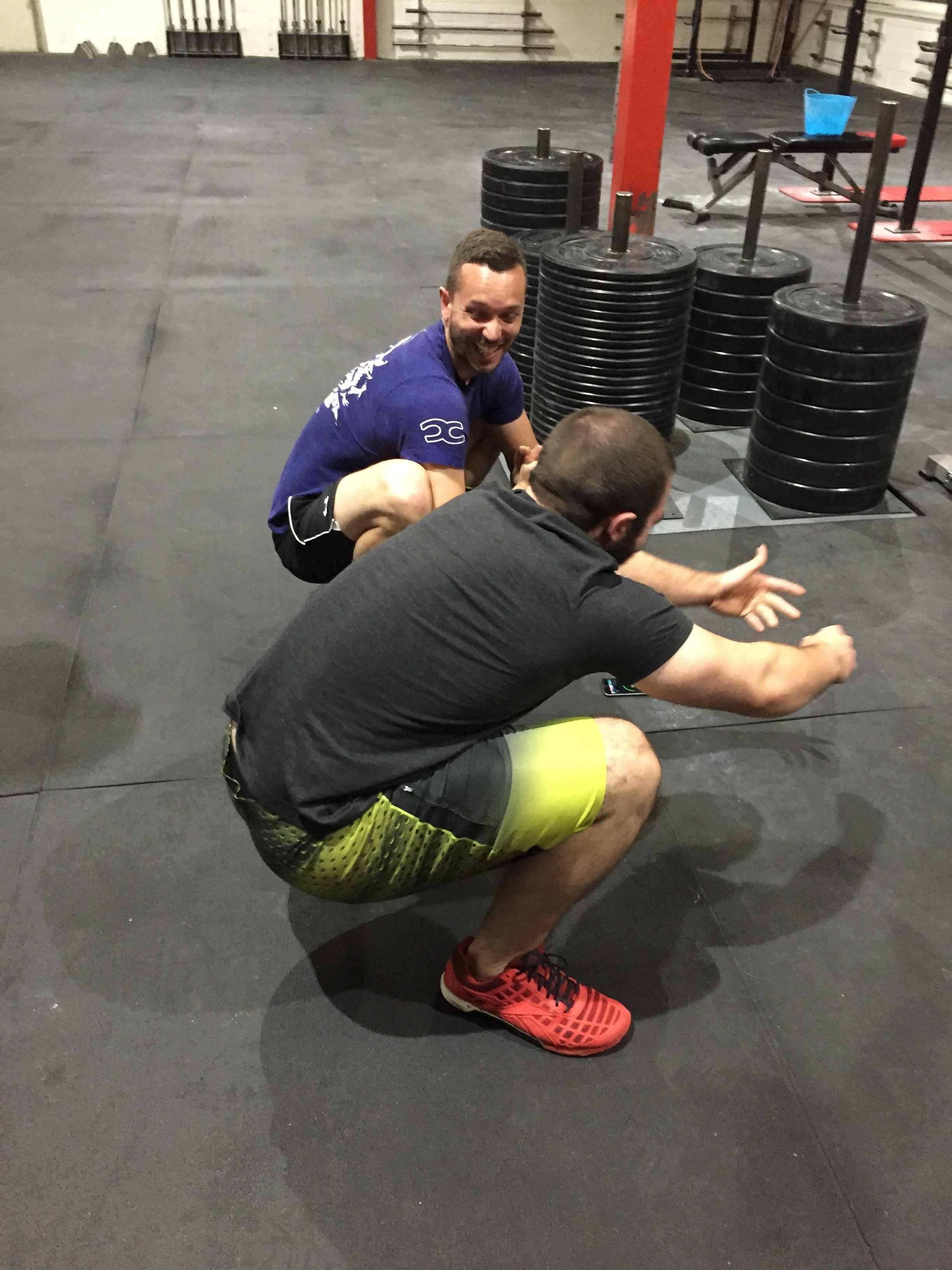 Week 1 of squat therapy