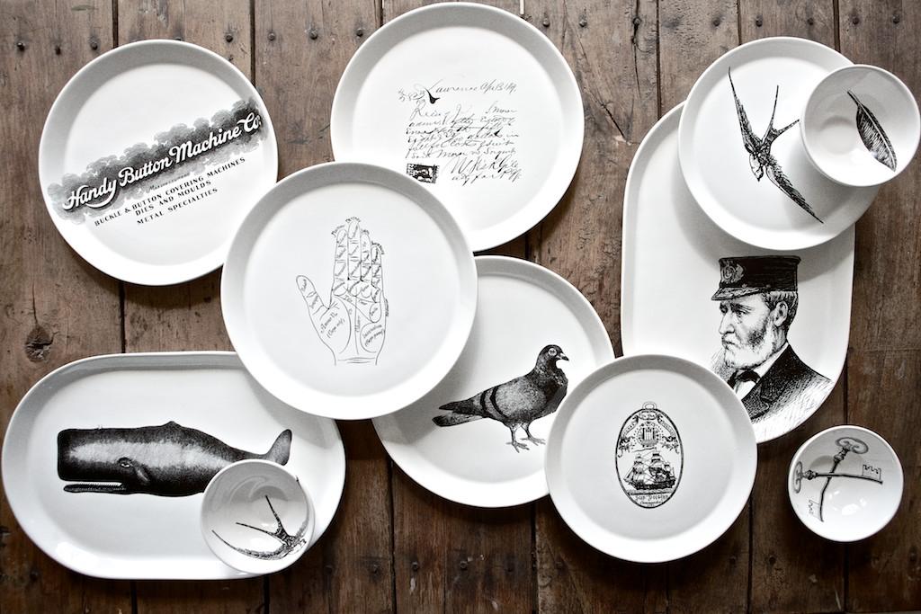Studio No. 19 Ceramic Plates