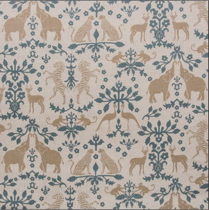 Animal Kingdom Fabric for Nursery