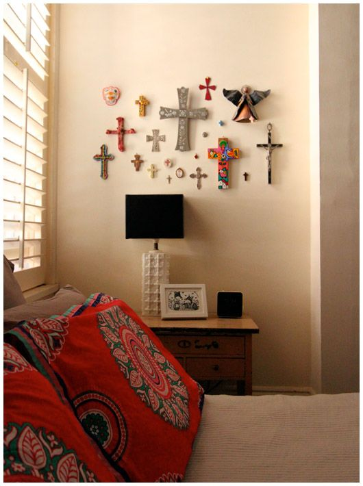 Christian Cross Wall