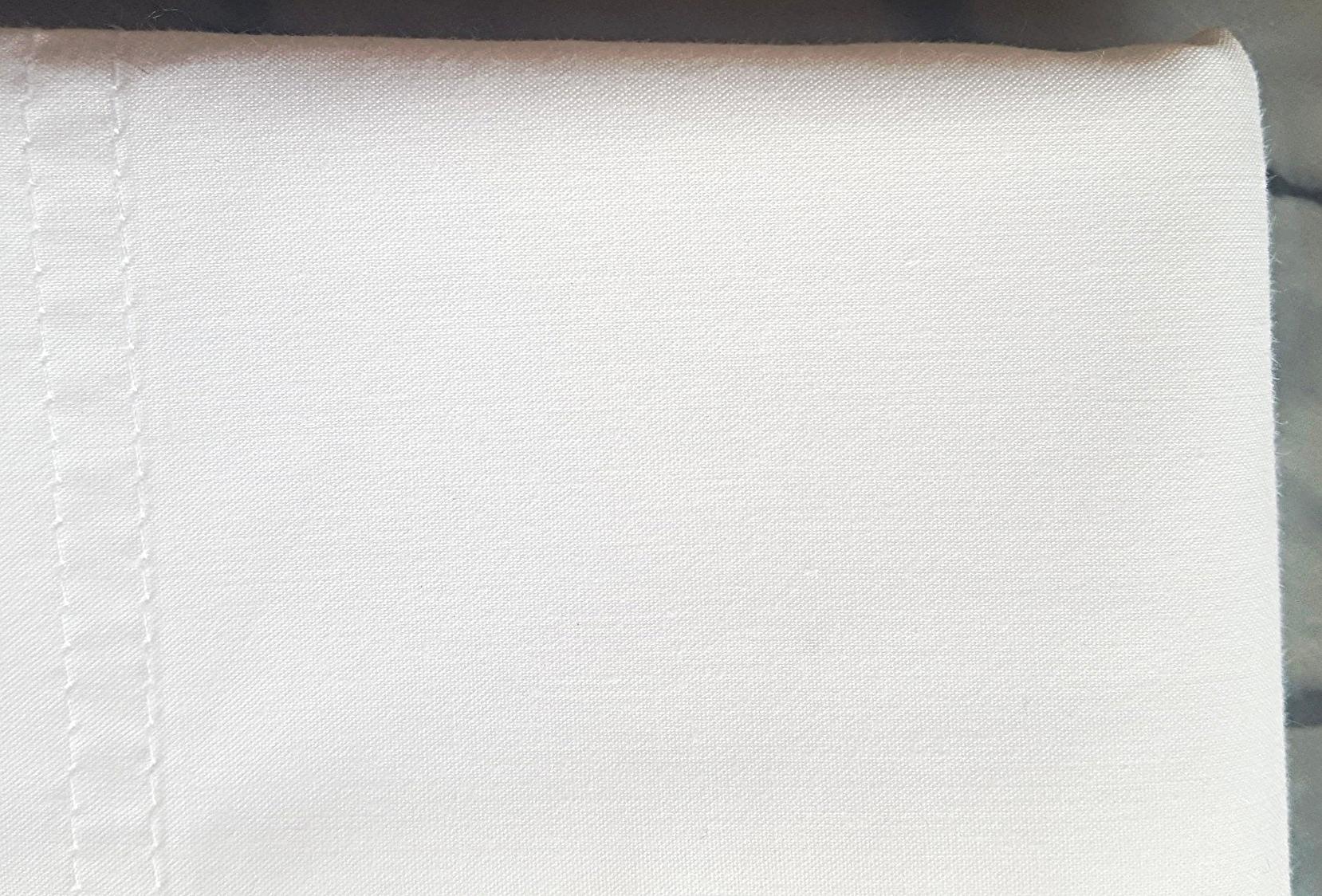 Polycotton Percale Pillowcase (note no creases)